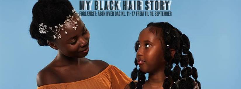 """Fotoudstillingen """"My Black Hair Story"""" og Paneldebat d. 10. sep. kl. 14 –17"""